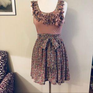 INA Floral Mauve Dress